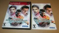 Virtua Fighter 4 Evolution (Case & Manual Only) Playstation 2 Fast Shipping