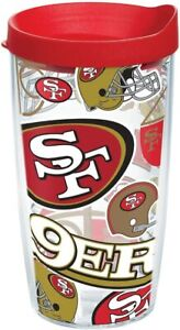 Tervis NFL San Francisco 49ers wrap Tumbler w/Red lid, 16oz water bottle 1863 []