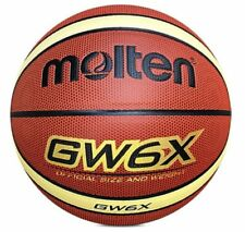 Women Molten Official Size 6 Durable Indoor Outdoor 28.5'' Gw6X Basketball New