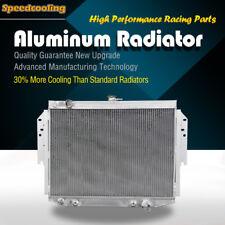 500 2ROW Aluminum Radiator For Chrysler Cordoba Dodge Aspen Plymouth V8 76-89