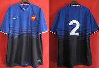 Maillot Rugby Equipe de France a 7 Femme FFR vintage Nike n° 2 PEYRONNET - XL