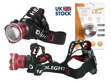 Headlamp CREE XM-L T6 6W ZOOM 350lm  IP44   3xAAA HQ
