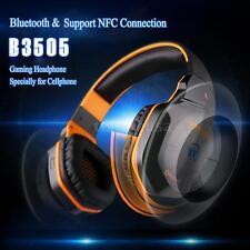 EACH B3505 Wireless Bluetooth PS3 Gaming Super Bass HiFi Headset Headphones 6NU3