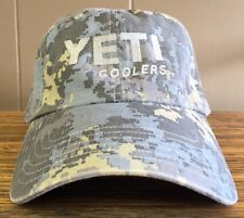 Yeti Coolers Simms Saltwater Camo Full Panel Hat, Very Rare, Limited Edition!