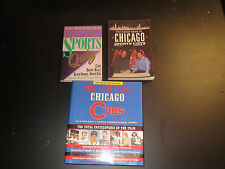 The Complete Chicago Cubs > Chicago Sports Lists > Chicago Quiz > 3 BOOK LOT