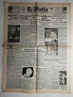N450 La Une Du Journal Le Matin 5 février 1943 la mobilisation totale Allemagne