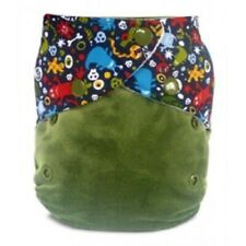 BN Baby Blush Monsters Reusable Pocket Nappy & Insert Size 1 Cloth RRP £21