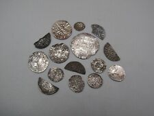 Collection Of UK Hammered Silver Coins  001215