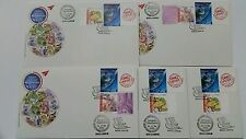 Autographed KESEF Club International Stamp Malaysia First Day Cover 2016 EACH
