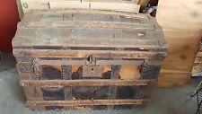 Vintage Camelback Steamer Trunk