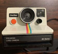 Vintage Polaroid BC Series Land Camera Instant Rainbow One Step White 1 Step