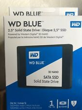 WD Blue 1TB 3D NAND SATA III 2.5 in. Internal SSD Brand New Sealed