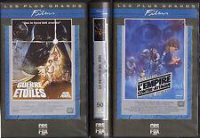 STAR WARS ... LES 3 PREMIERES VHS ... ANNEE 1990 CBS FOX
