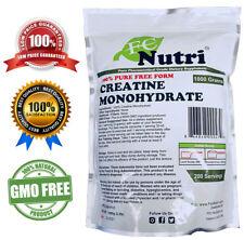 Creatine Monohydrate 100% Pure Powder 1000g (2.2 lb) Micronized by FC NUTRI
