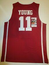 Trae Young Oklahoma Sooners Auto Autographed Signed Jersey JSA COA Atlanta Hawks