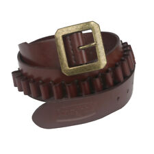 Tourbon Genuine Leather Cartridge Belt Ammo Carry Sling for 38spl Magnum in USA