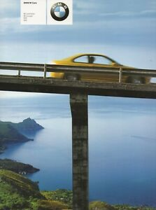 BMW M Brochure Australian M3 M5 M Roadster and M Coupe E39 E46