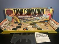 Vintage 70's Ideal Tank Command Board Action Game Works