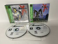 Xenogears (Sony PlayStation 1, PS1 GH Complete W Manual NEAR MINT DISCS WOW!!!