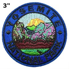Yosemite National Park Patch Souvenir Travel Embroidered Iron / Sew-on