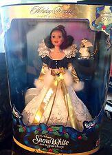 DISNEY Barbie Sp. Ed. HOLIDAY PRINCESS SNOW WHITE & ORNAMENT! NEW! NRFB!