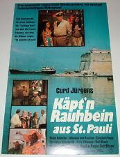 Curd Jürgens KÄPT`N RAUHBEIN AUS ST. PAULI original Kino Plakat A3