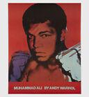 Andy Warhol Rare Vintage 1978 Original Muhammad Ali Poster MISC03.3657