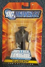 DC Universe Justice League Unlimited Scarecrow Fan Collection