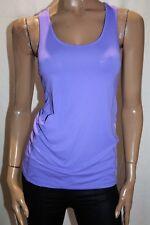 Active Brand Purple Racer Back Sportswear Tank Top Size 12 BNWT #TN66