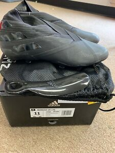 New Authentic Adidas Nemeziz 19+ FG Mens Size 11 Black