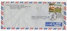 1971 PHILIPPINES Air Mail Cover PLAZA GOITI MANILA To LONDON SG1199