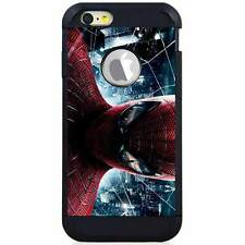 Apple iPod Touch 5/6 5th/6th Gen. Hybrid Case Cover Spiderman Realpix City