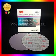 25 x 3M Disque abrasif Trizact P1500 / 150 mm (05600) Abrasive discs Trizact