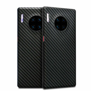 100% Carbon Fiber Hard Cover Case for Huawei P30/P30 Pro/Mate 30/Mate 30 Pro