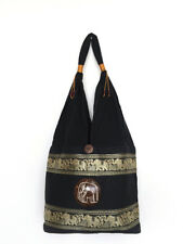 Thai Boho Shoulder Bag Elephant Sling Bag Tote For Hippie Gypsy Yoga Travel
