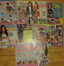 Becky G, Lot of EIGHT Full and Two Page Clippings