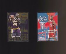 1999 Skybox Dominion 2 Point Play #5TP Shaquille O'Neal Michael Olowokandi