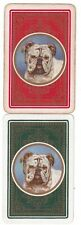 VINTAGE BRITISH BULLDOG  (2)  swap/playing cards