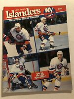 1988 89 New York ISLANDERS Yearbook 20th ANNIVERSARY EDITION Lafontaine TROTTIER