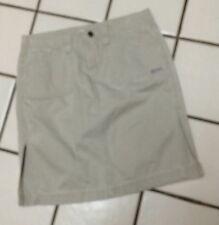 HYDRAULIC Beige Khaki Ribbed Chino  Pencil Cargo Skirt Jr Miss  Sz 3/4