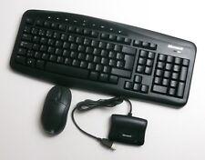 TASTIERA Wireless E Mouse Ottico 700 MODELLO 1132 Microsoft Layout tedesco