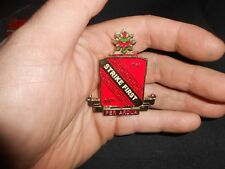 1st 44th Air Defense Artillery PER-ARDUA Warrior Ethos Army Challenge Coin