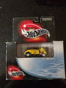 Hot Wheels 2002 Collectibles Black Box No. 15 1933 Willys