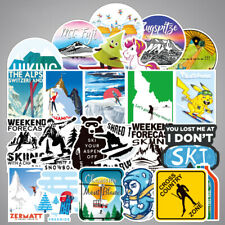 70Pcs Ski Snowboard Sticker Bomb Pack Skiing Winter Outdoor Laptop Luggage Decal