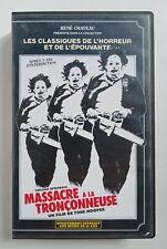 VHS Massacre à la Tronçonneuse 1991 René Chateau Tobe Hooper version française