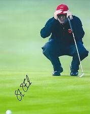 Steve Stricker signed autographed 8x10 photo Pga star U of Illinois Tiger Woods