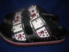 Dune Black  ladies  double strap  sandals size uk 5 / 38