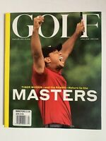 **TIGER WOODS / AUGUSTA MASTERS USA GOLF MAGAZINE 2020 MINT CONDITION**