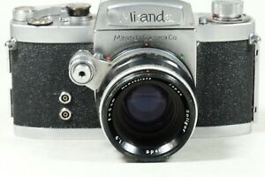 Miranda DR with 50mm f1.9 Soligor Miranda Lens