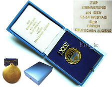 communist East german Medal 1971 XXV. Anniversary of the FDJ Free german youth